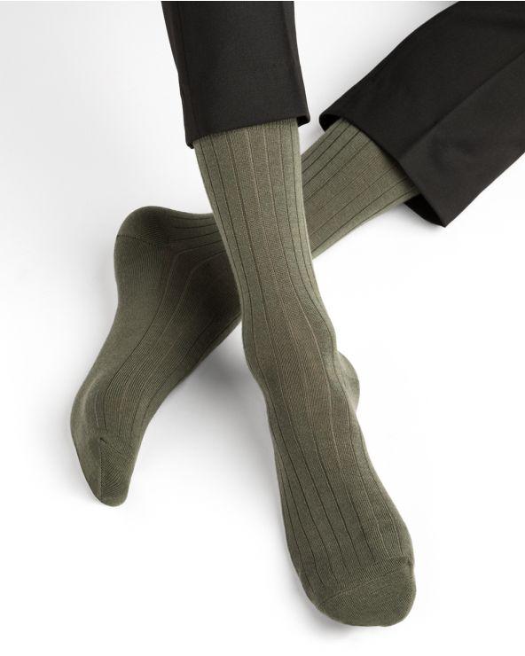 Calcetines de lana con interior de algodon