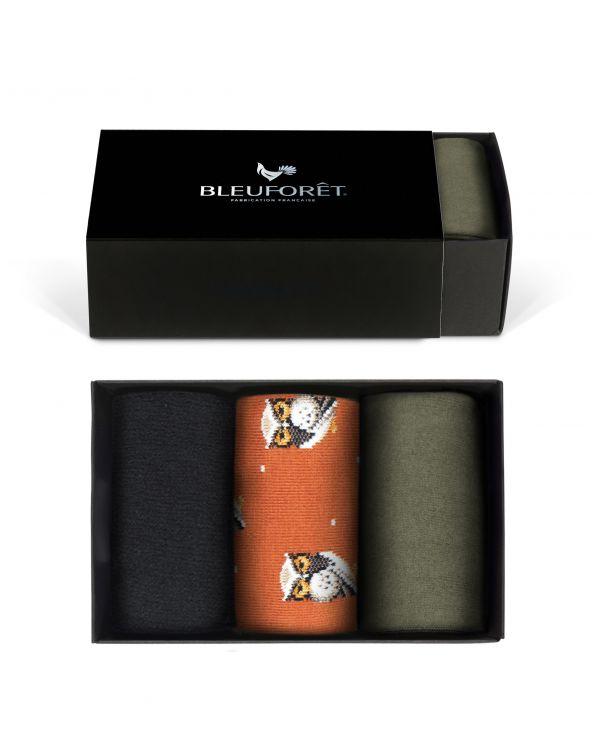 Caja de regalo de algodon con estampados