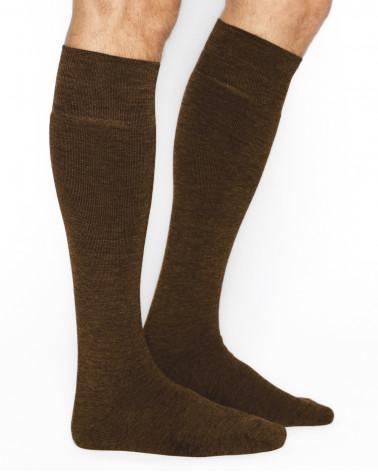 Chaussettes laine hautes chaudes