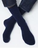 Chaussettes Cachemire À Côtes
