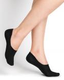 Chaussettes invisibles protège-pieds coton