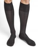 Chaussettes hautes 100% fil d'Écosse