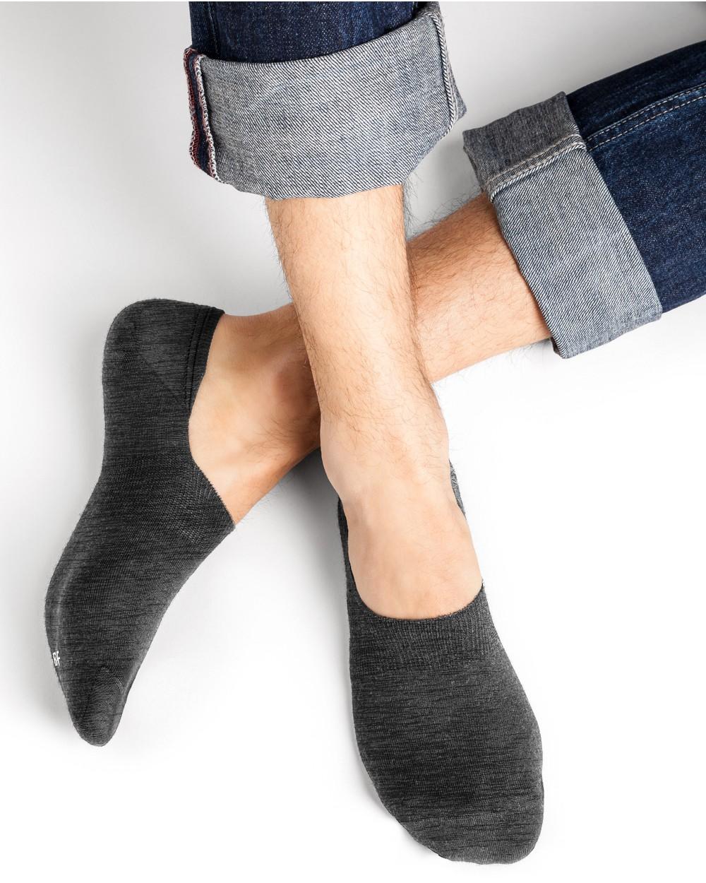 Chaussettes invisibles laine Mérinos