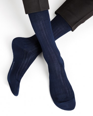 Chaussettes 100% fil d'Écosse à côtes - Excellence