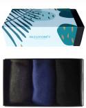 Coffret cadeau chaussettes 100% Fil d'Écosse