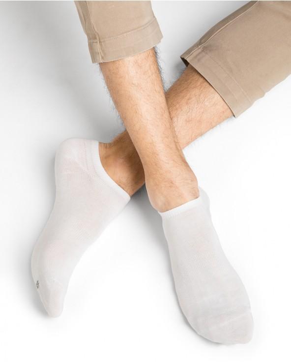 Chaussettes invisibles pur coton