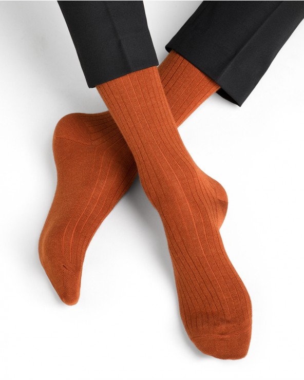 Cashmere and silk socks