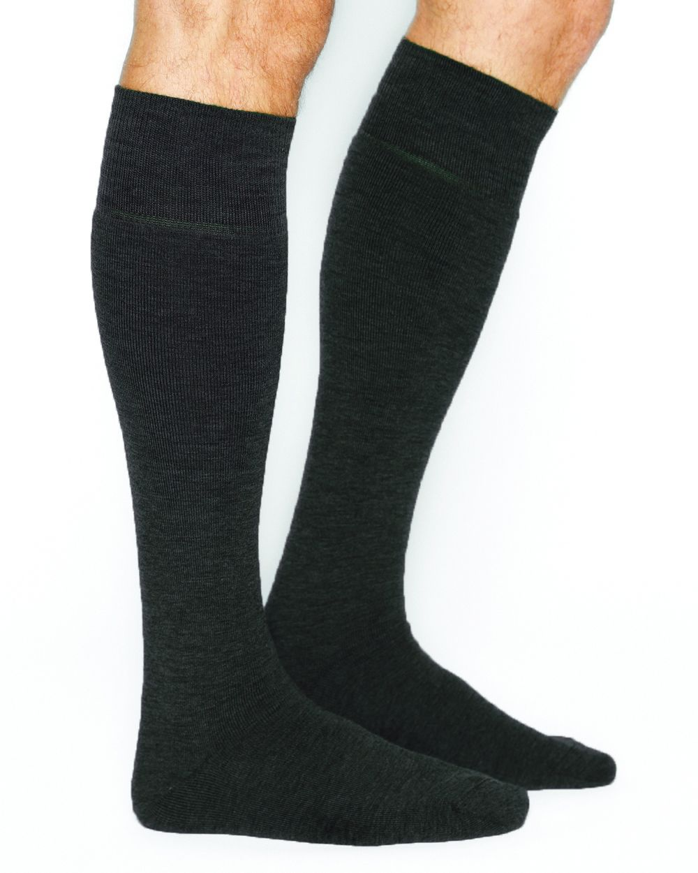 Warm wool over the calf socks