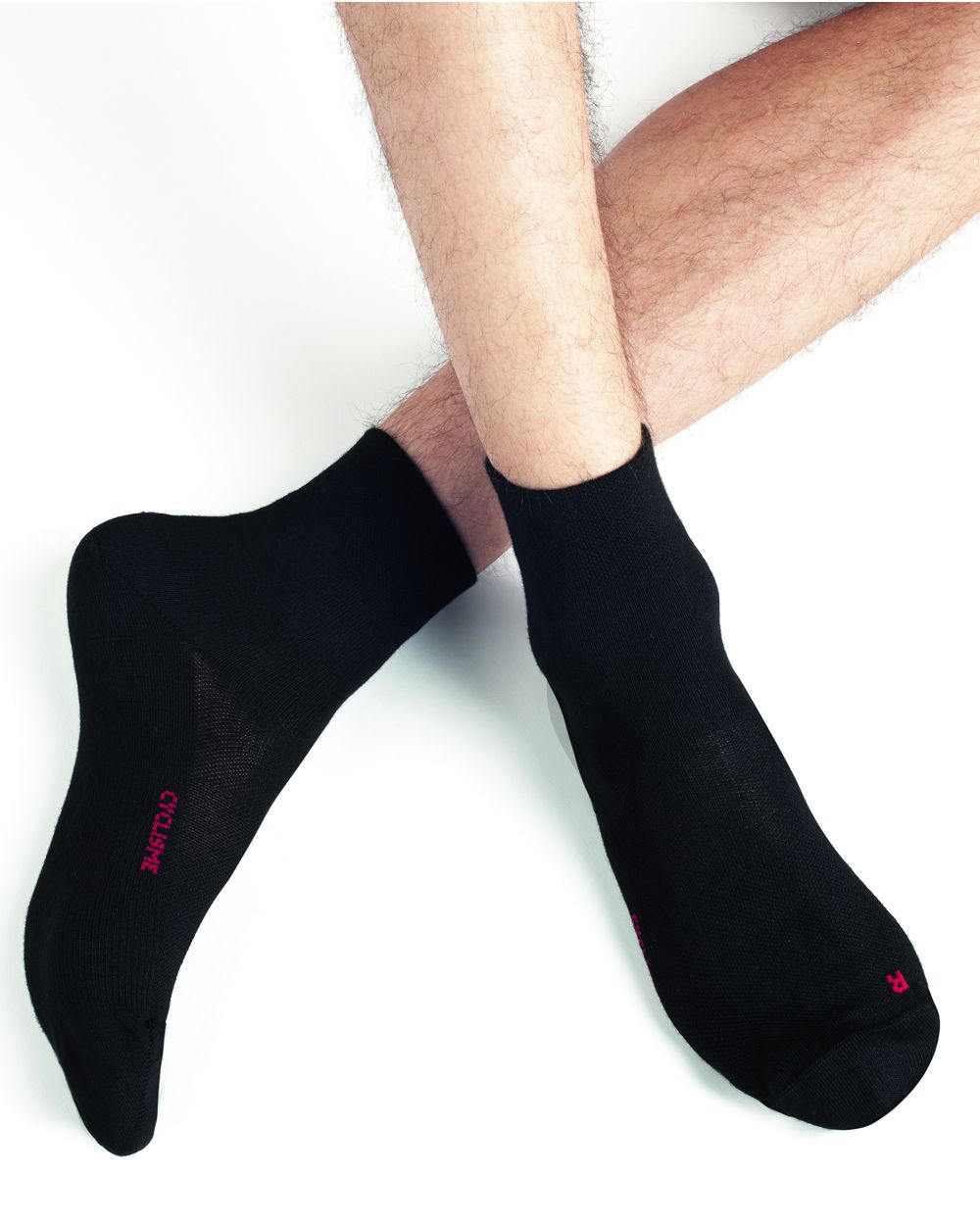 Cycling ankle socks