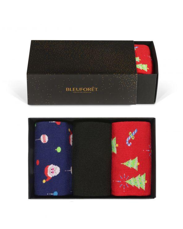 Christmas Fantasies Cotton Gift Box