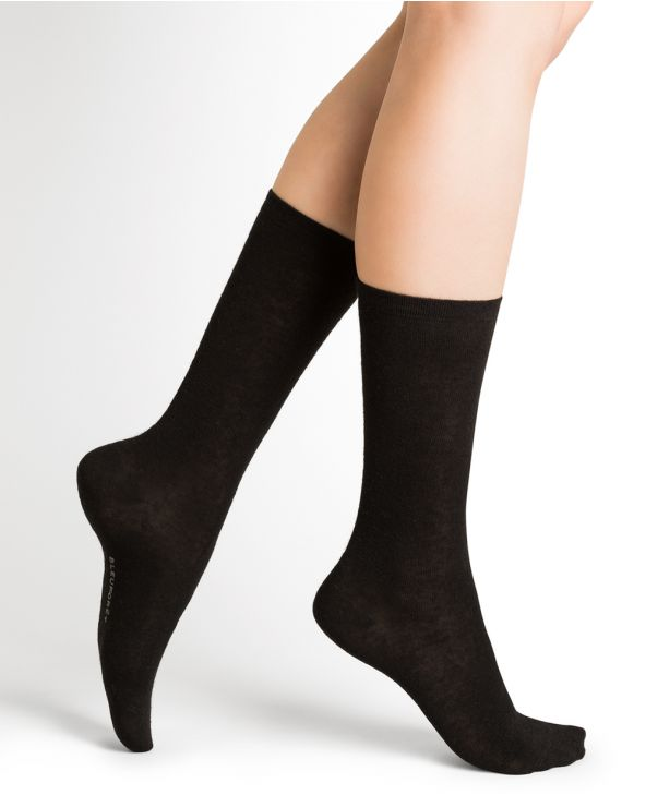 Angora plain socks