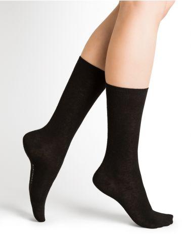 Angora plain socks