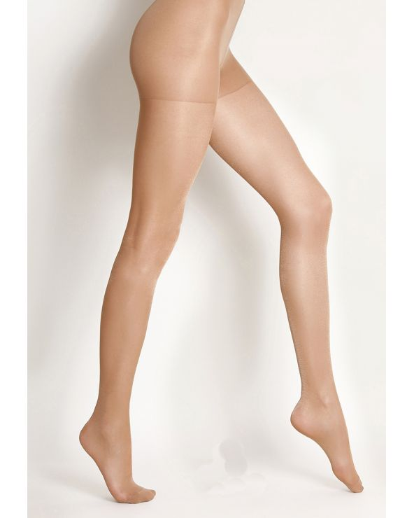 20 denier glossy transparent tights