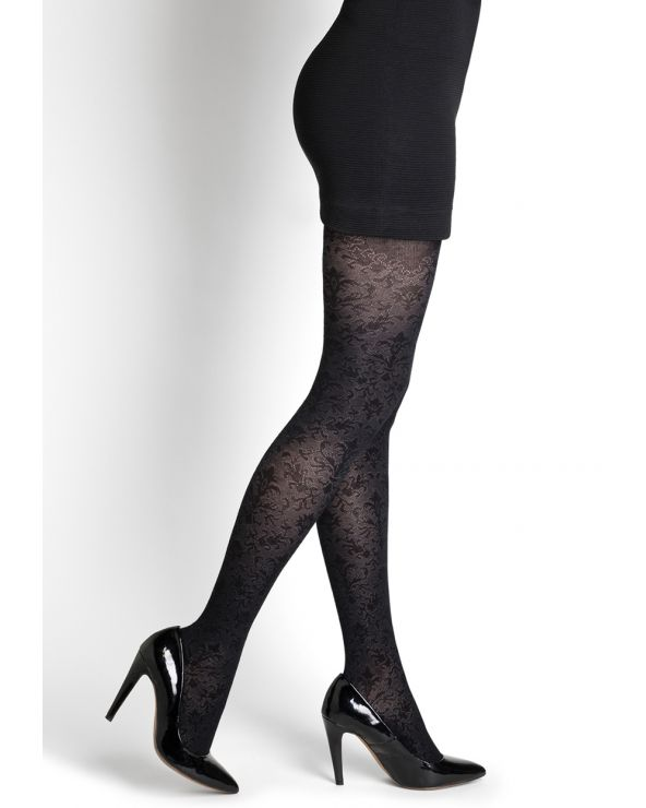 Renaissance pattern cotton tights