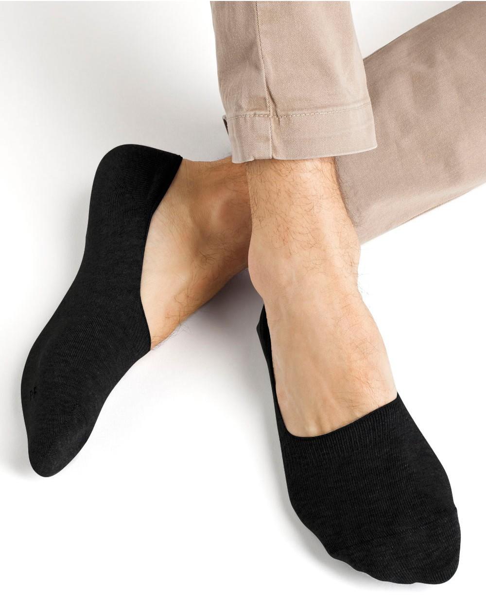 Chaussettes invisibles coton protège-pieds