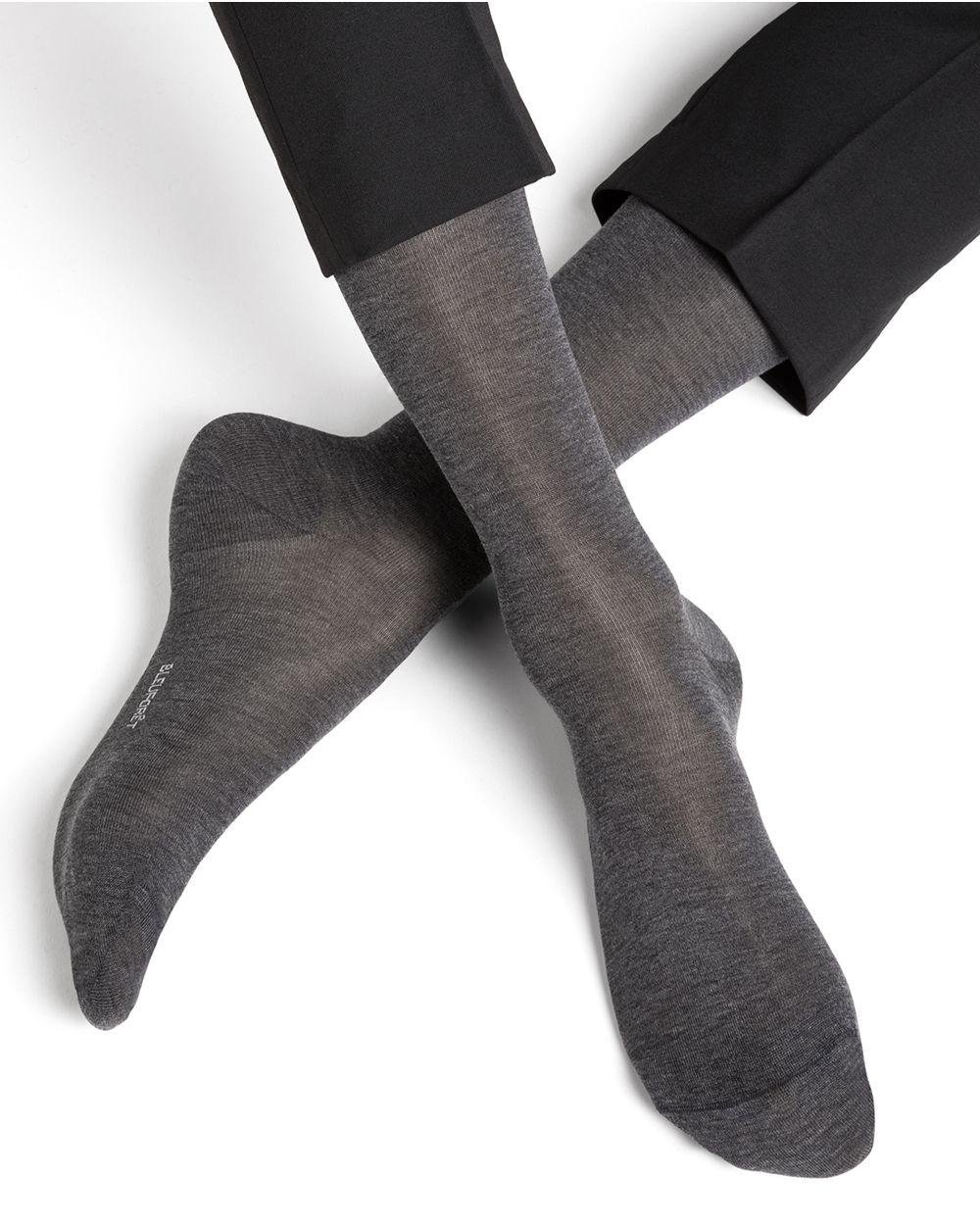 Chaussettes soie unies