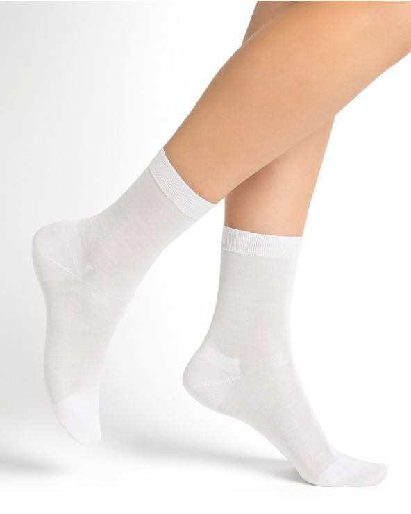 Pure cotton invisible socks