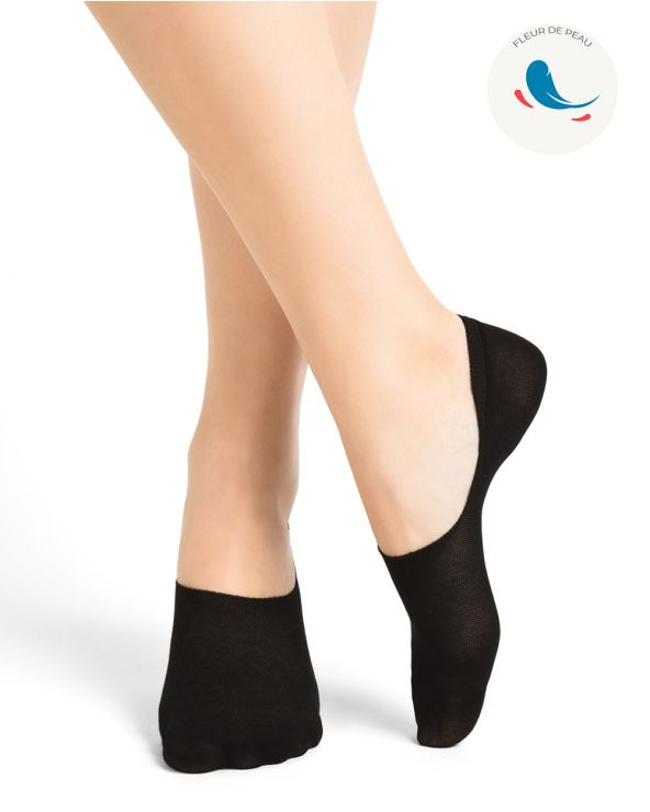 Hypoallergenic ultra-fine cotton invisible socks