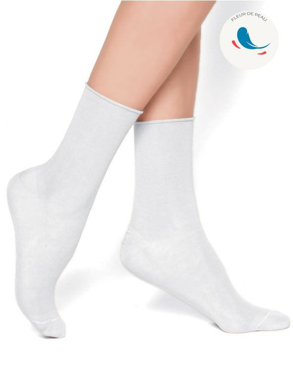 Hypoallergenic velvet cotton socks