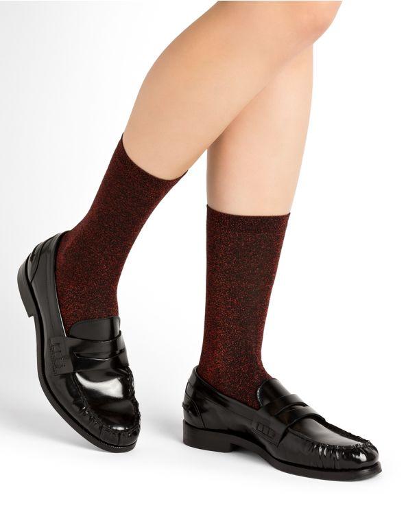 Glossy socks