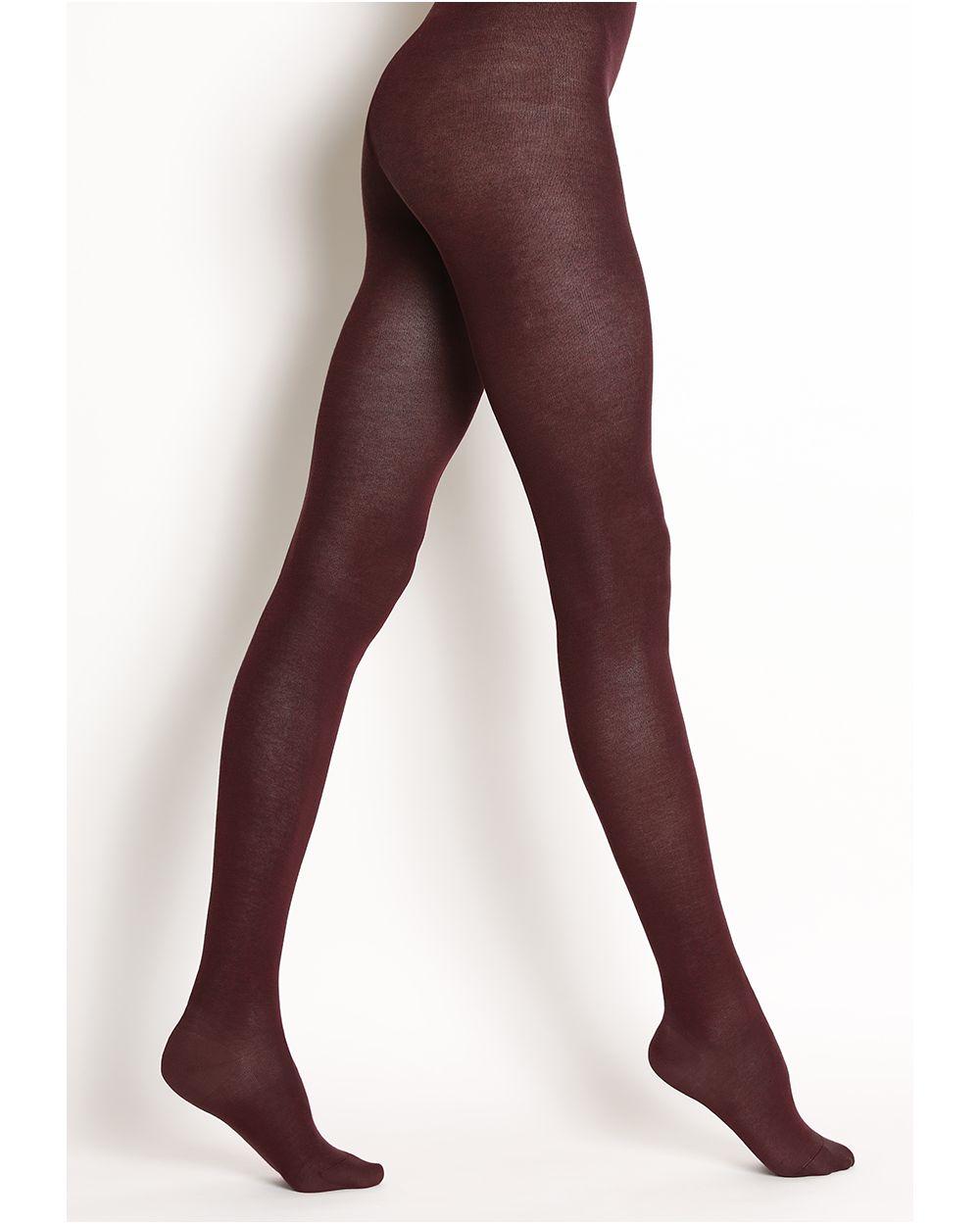 Velvet pure cotton tights
