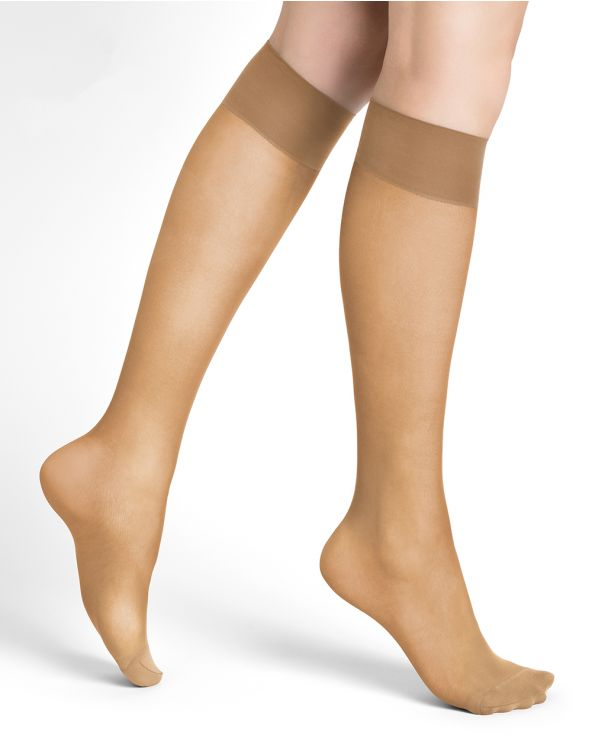 18D sheer knee-highs - Excellence