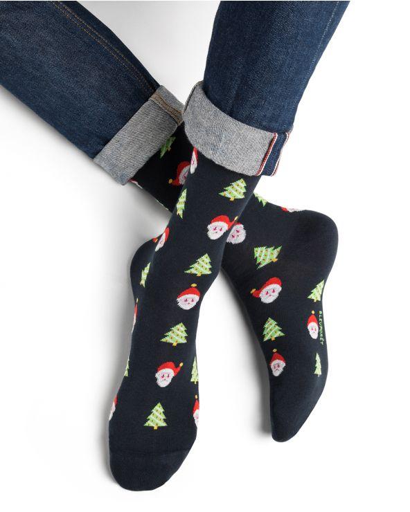 Christmas pattern cotton socks