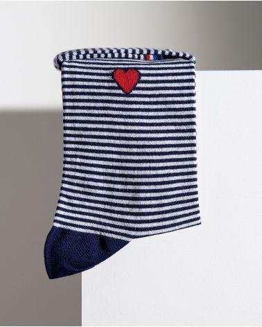 Cotton sailor socks