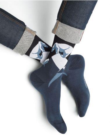 Chaussettes Coton Motif Ours Polaire
