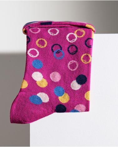 Chaussettes Coton Motif Confettis