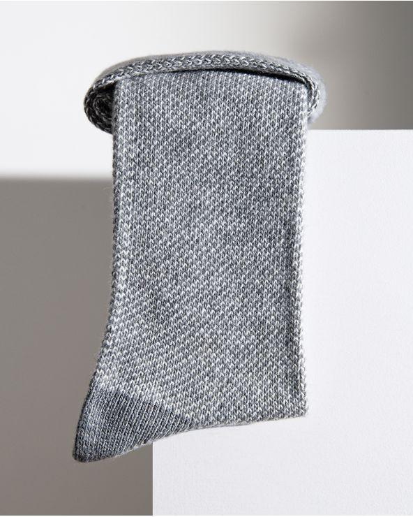 Chaussettes Cachemire Laine Piquées