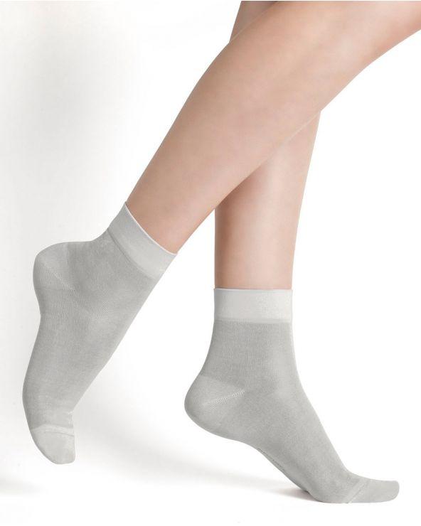 100% Silk ankle socks