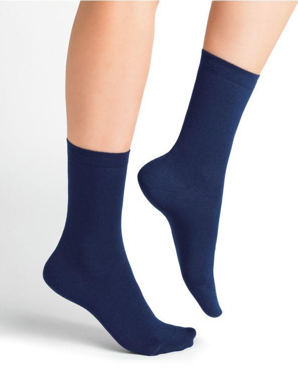 Marled Cotton Socks