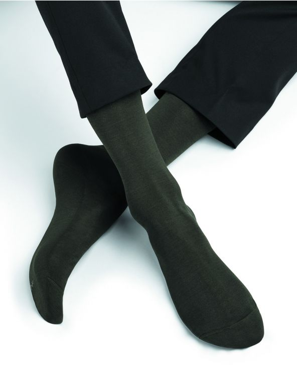 Chaussettes fines 100% fil d'Écosse
