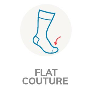 Flat seam